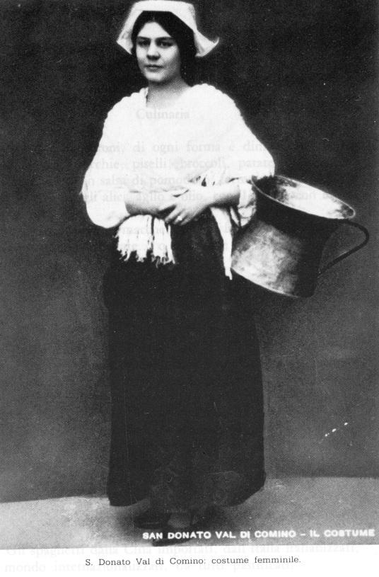 15. Traditional Female costume, San Donato
