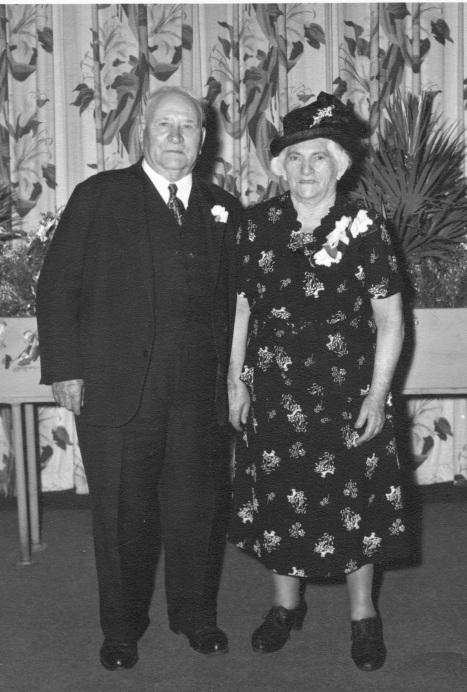 19. Pietro and Domenica Salvucci, c. 1957