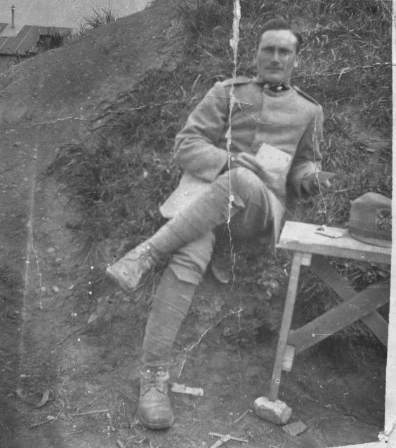 4. Loreto Salvucci in his World War I Italian army uniform
