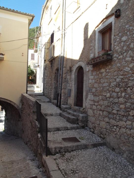 7. Salvucci residence prior to emigration, San Donato @