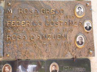 B-7 Costanza gravestone