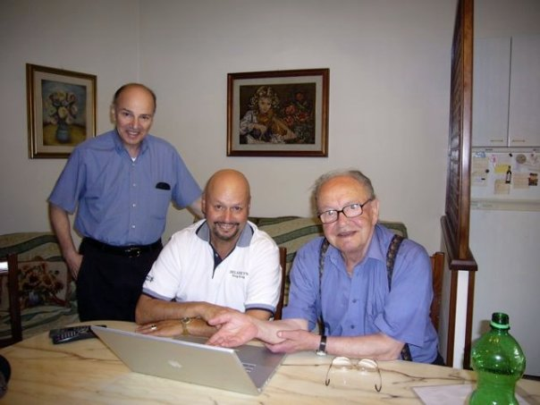 C-1 Bill & Bob Marchione with Carmello Salvucci, 2006