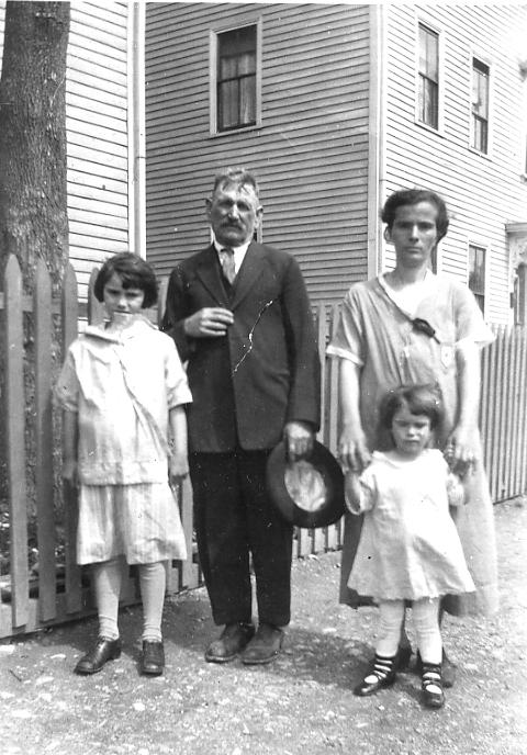 C-2 Carmine Salvucci, Cesidia and Maria on Snow Street, mid 1920s