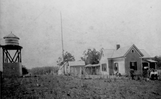 2 Crystal Springs Distillery at Concord Road and King Springs Street, later known as the Baldwin Farm.