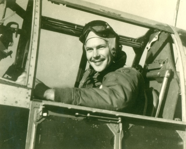 29b.Max Parnell in Cockpit