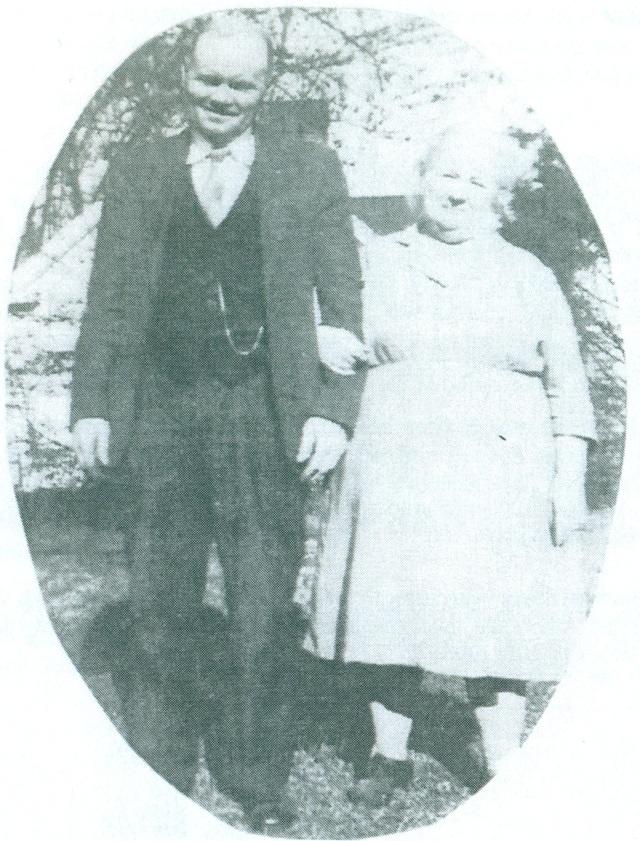 34b. Mr.&Mrs. Robert Howard Bacon, Sr., grandparents of Mayor Max Bacon, mid 1940s
