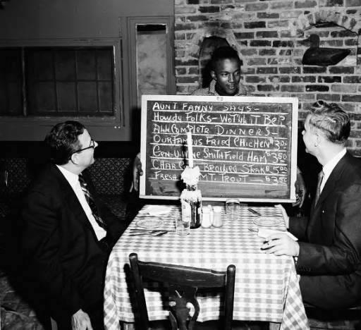43c. Aunt Fanny's Cabin black waiters