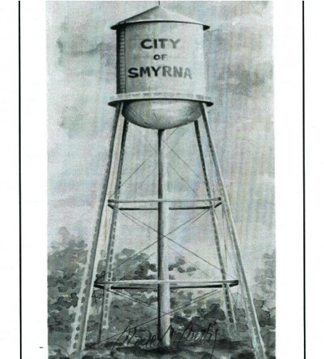 47. Smyrna Water Tower