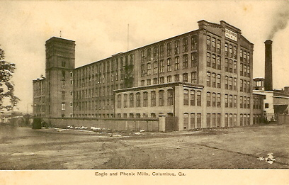 8. Textile Mill, Columbus, Georgia