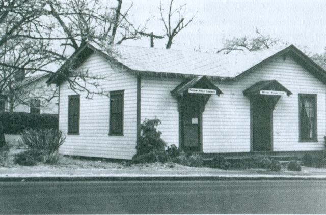8a. Smyrna Women's Club (first library), 1936