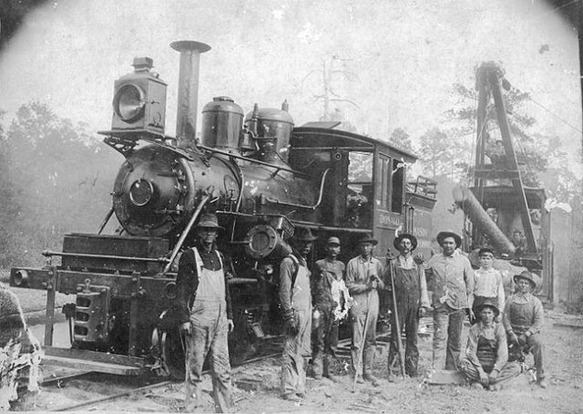 9. Railroad crew