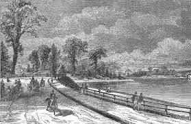 Bro-8--Chestnut Hill Reservoir, c. 1870