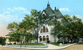 Bro-9-Brookline, MA 1873 Town Hall