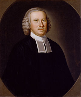 10. John Hesselius, Portrait of the Reveerend Richard Brown (c. 1760)