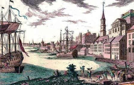12. Port of Boston c. 1764