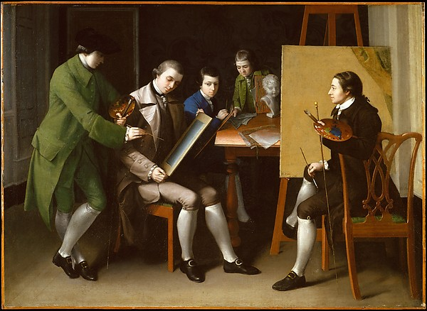 14. Matthew Pratt, The American School, 1765