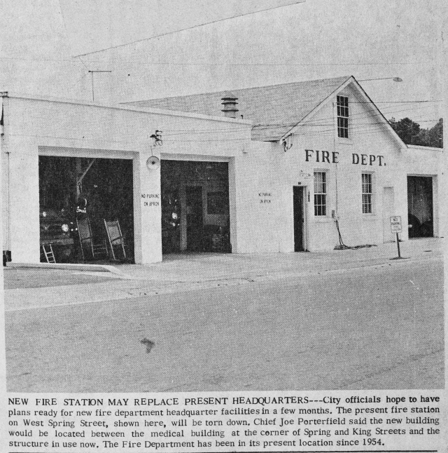 17. Smyrna's 1954 Fire Station