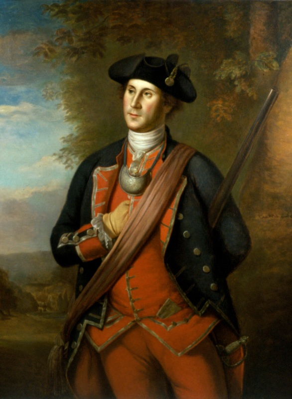 19a. Peale, George Washington asa Colonial Colonel, 1772