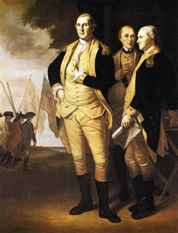 19b. George Washington at Yorktown (1782)