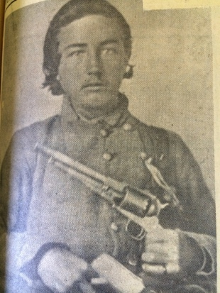 1a. J. Gideon Morris as a Confederate soldier