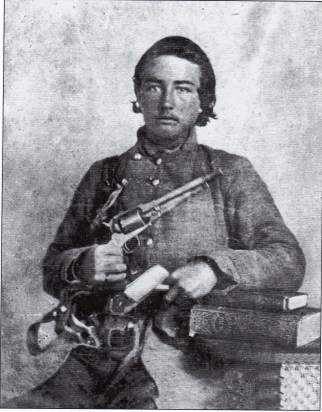 1b. J. Gid Morris as a Confederate soldier