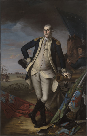 20. Peale, George Washington at the battle of Priceton, 1787-92