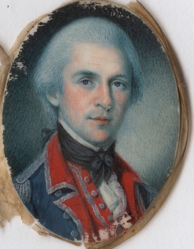 21. Peale, miniture of Colonel Water Stewat, 1781
