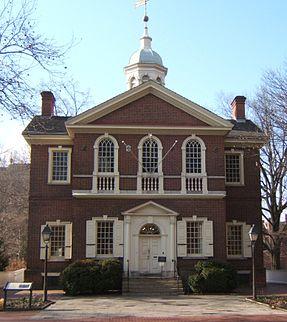 23. Carpenter's Hall, Philadelphia