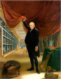 24. Peale, The Artist in his Museum, 1822