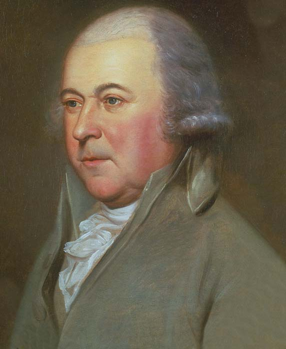 25a. Peale, Portrait of John Adams, 1791-94