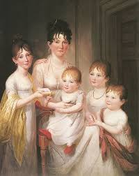 27a. James Peale, Madame Dubocq and her Children, 1836