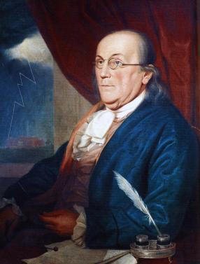 3. Peale's Benjamin Franklin, 1789