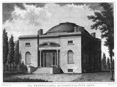 31. Pennsylvania Academy of Fine Arts, 1805 building