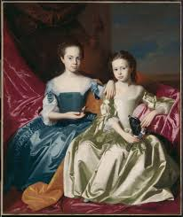 5. Copley, The Royall Sisters, 1758