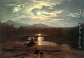 A3. Allston's Moonlit Landscape (1809)