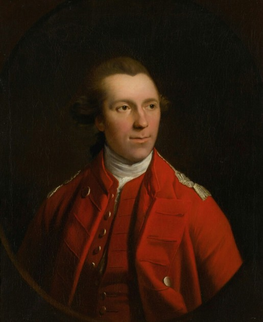 B-2. R.E. Pine, Unknown British Officer (1761-70)