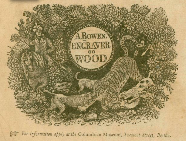 B-6b. Bowen engraving referencing the Colubian Museum