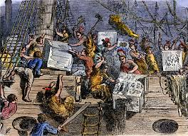 C7. Boston Tea Party, Dec. 16, 1773