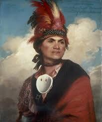 S-13b. Stuart, Mohawk Chieftain Joseph Brant. (1786)