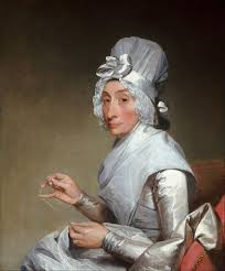 S-17a. Stuart, Mrs. Richard Yates (Catherine Brass Yates) painted in 1794