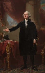 S-19. Stuart, Lansdowne Portrait of George Washington (1796)