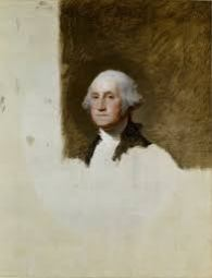 S-20a. Stuart, Athenaeum portrait of George Washington (1796)