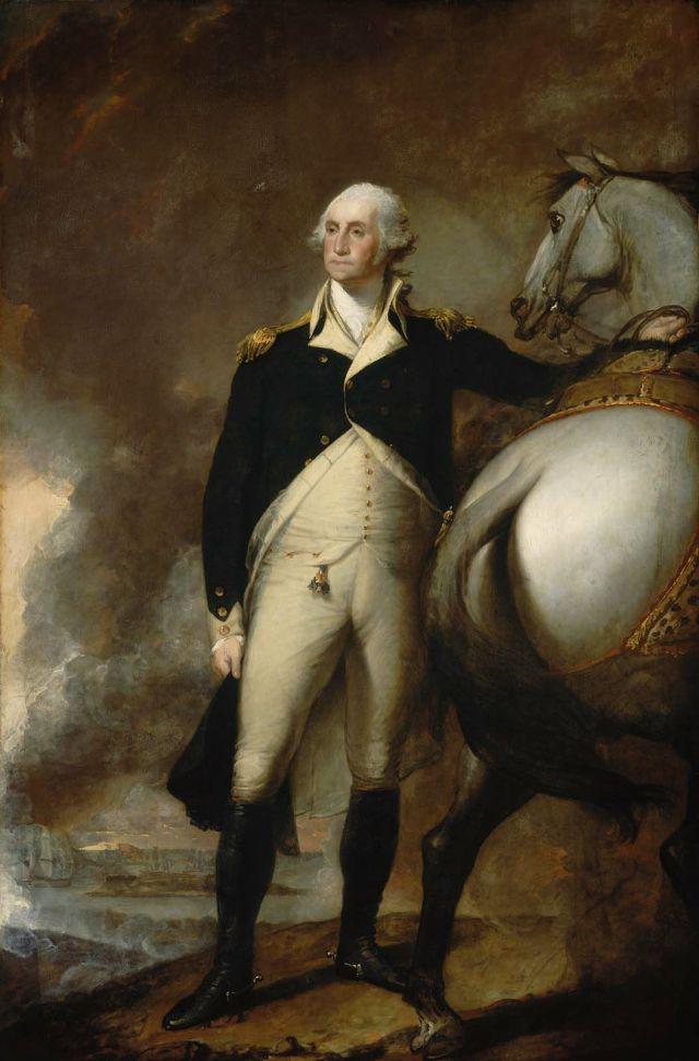 S-22. Stuart, Washington at Dorchester Heights (1806)