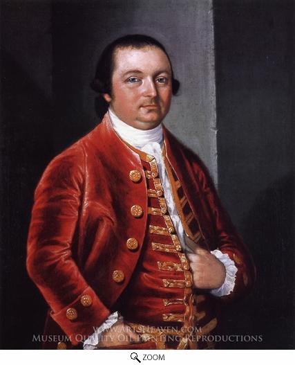 S-4. Stuart, portrait of John Bannister (1773)