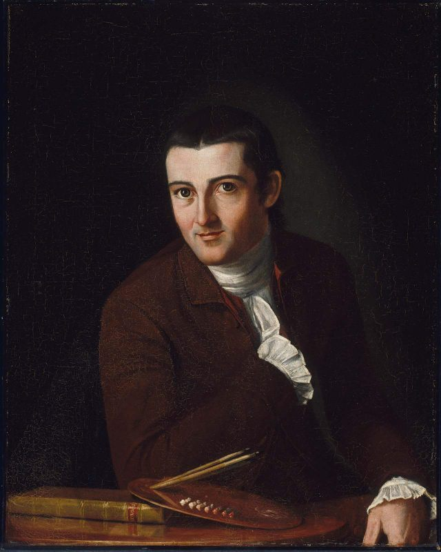 T-1. Trumbull, Self Portrait (1777)