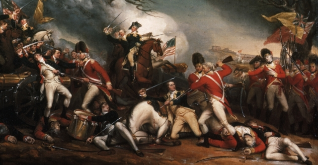 T-14. Trumbull, The Death of General Mercer at the Battle of Princeton (1787)