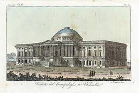 T-28. U.S. Capitol Building in 1820