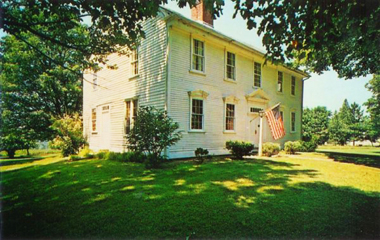 T-3. The childhood home of John Trumbull, Lebanon, Conn.