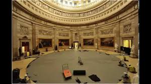 T-30. View of the Capitol Rotunda showing Trumbull Paintings