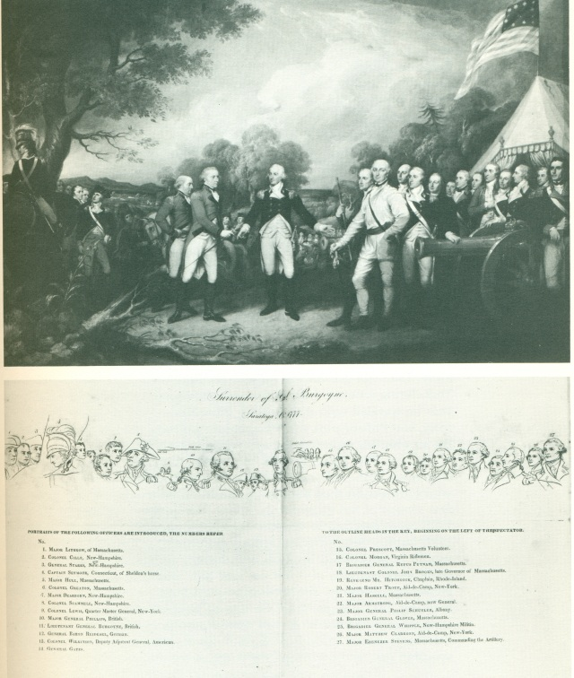 T-33. The Surrender of General Burgoyne